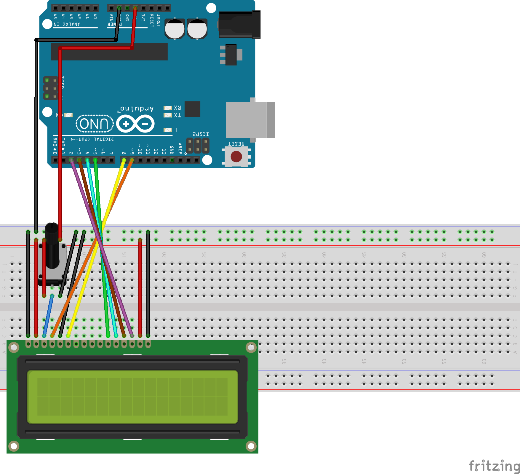 Arduino with LCD